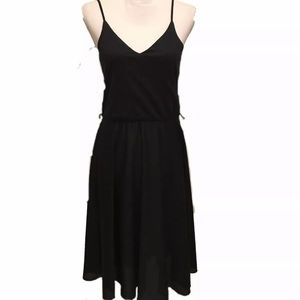 Dresses & Skirts - XS Sm 70s 80s vintage disco slip dress poly black